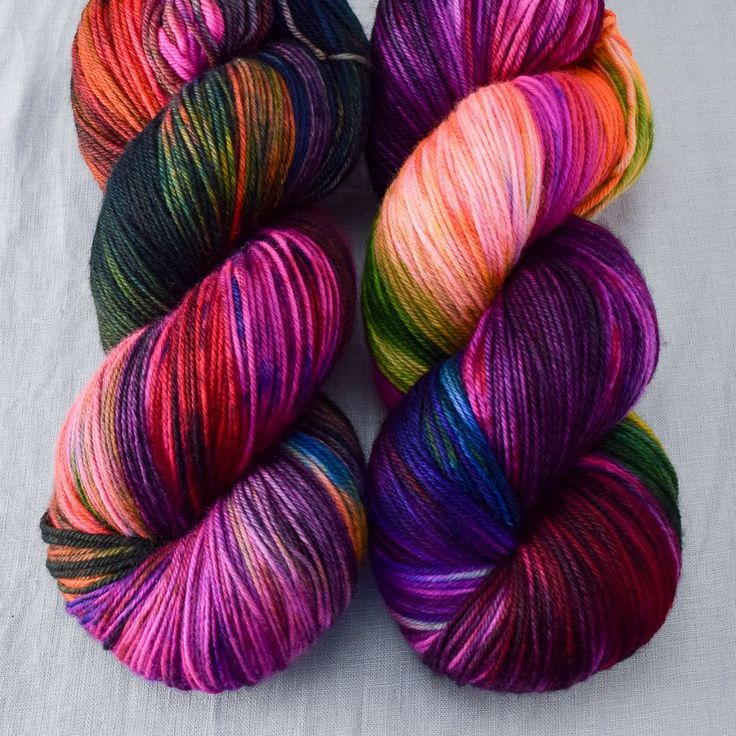 Perfectly Wreckless - Yowza - Babette $38 560 yds us 6-8 superwash wool