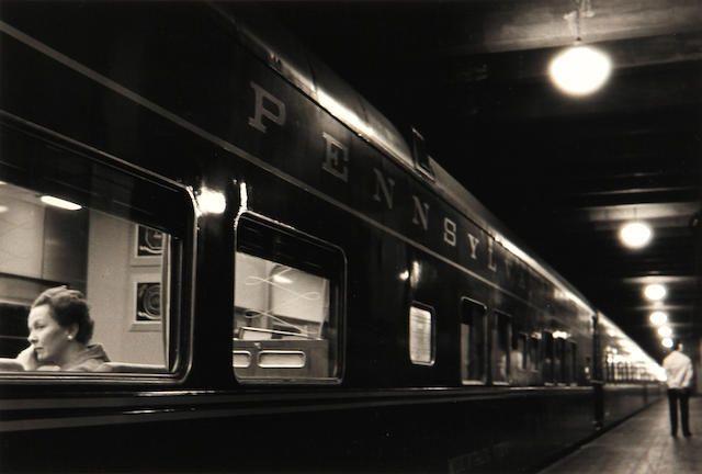 Louis Stettner: Penn Station, 1958