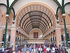 saigons central post office - gustave eiffel - vietnam, ho chi minh city, stock photo