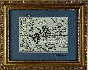 Светящаяся в темноте картина Близнецы - Знаки зодиака светящиеся <- Картины, плакетки, рельефы - Каталог | Универсальный интернет-магазин подарков и сувениров