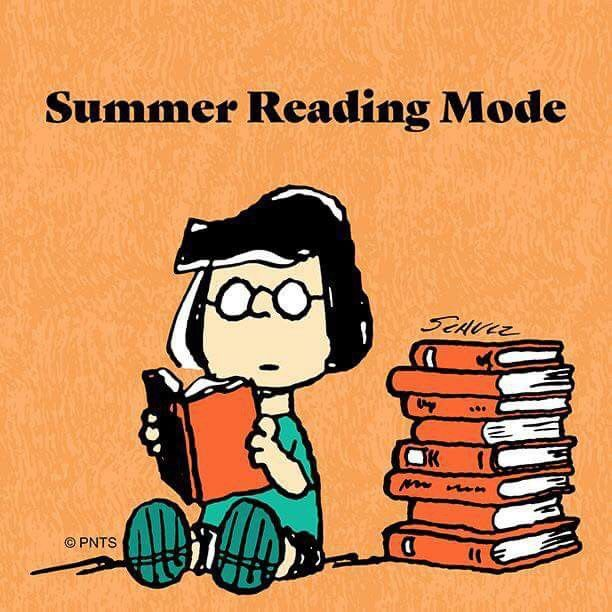 Summer Reading Mode Humor Joke Funny Lucy Peanuts Read Book Library Cartoon Comic Comicstrip Library Humor Summer Reading Snoopy