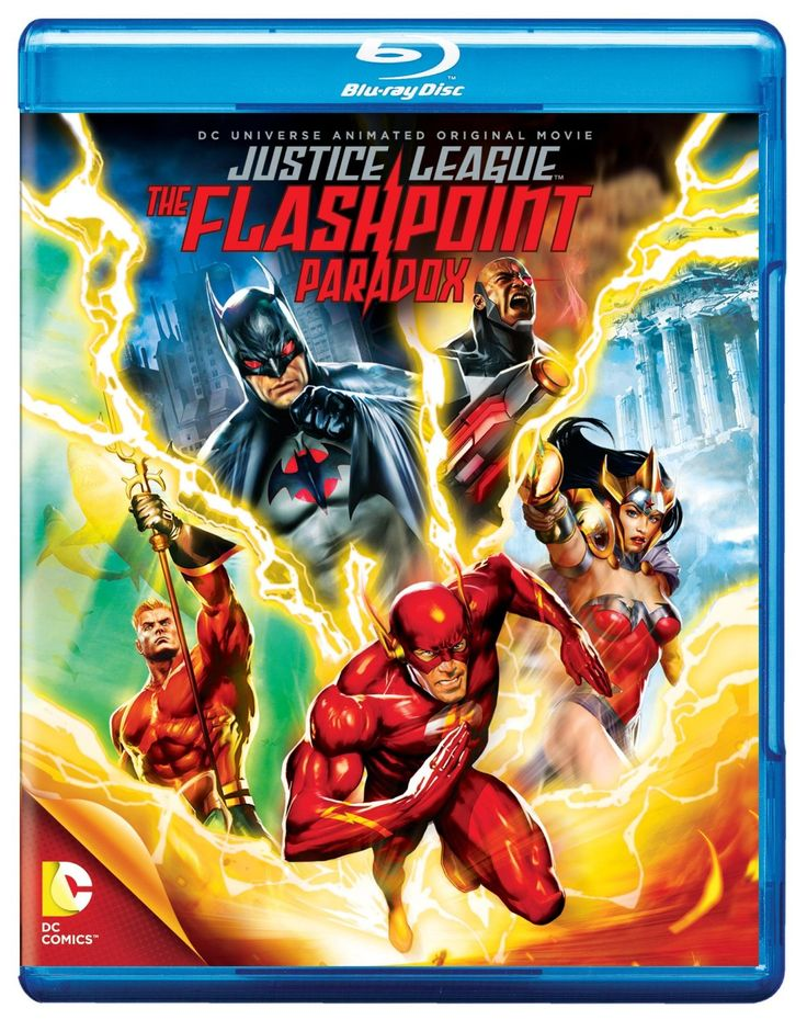 Justice League: The Flashpoint Paradox Blu-ray US Import: Amazon.co.uk: Justin Chambers, C. Thomas Howell, Michael B. Jordan, Kevin McKidd, Dee Bradley Baker, Steve Blum, Kevin Conroy, Sam Daly, Dana Delany, Grey Griffin, Cary Elwes, Nathan Fillion, Jay Oliva, Alan Burnett, Bobbie Page, Geoff Johns, Andy Kubert, Bill Finger, James Krieg: DVD & Blu-ray