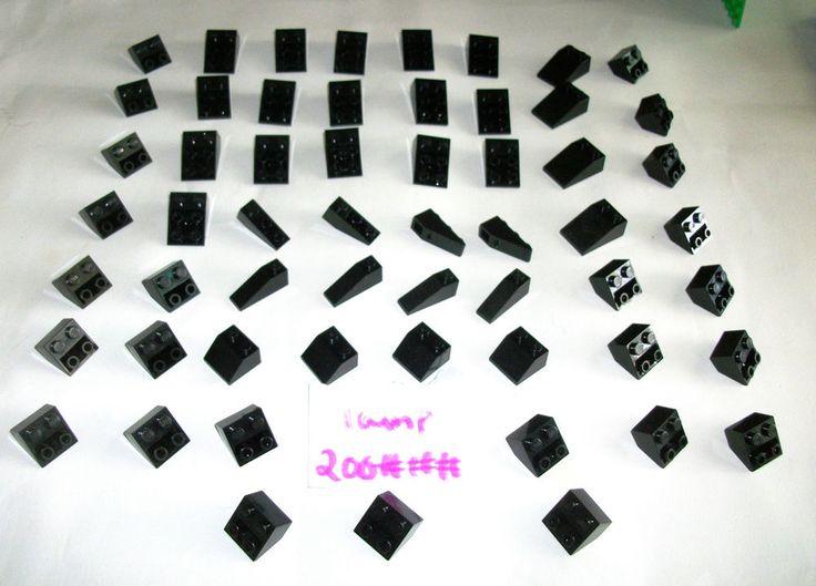 > > > $16.50 < < <   LEGO Black Roof Tile Inverted Slopes 4286 4287 3039 3660 3747 3298 25 45 deg 1x3
