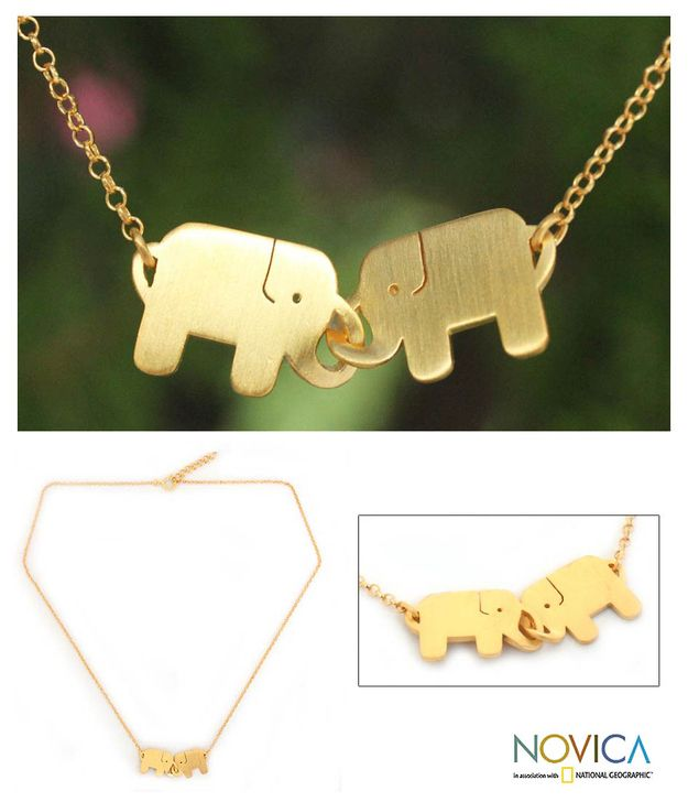 Elephant Friendship Necklace | 47 Intensely Delightful Pieces Of Animal Jewelry
