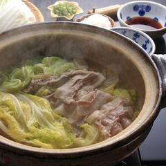 Cabbage pork nabe hot pot