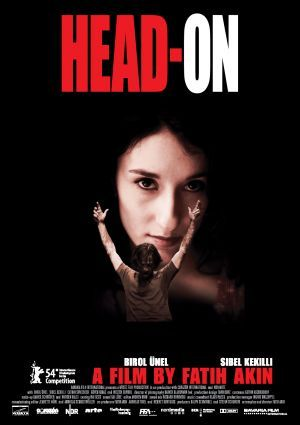 Head-On (Fatih Akin, 2004), an explosive drama about two Turkish- Germans who enter into a marriage of convenience; he's a grieving widow, she wants to liberate herself from her conservative family. Find this at 791.43743 HEA
