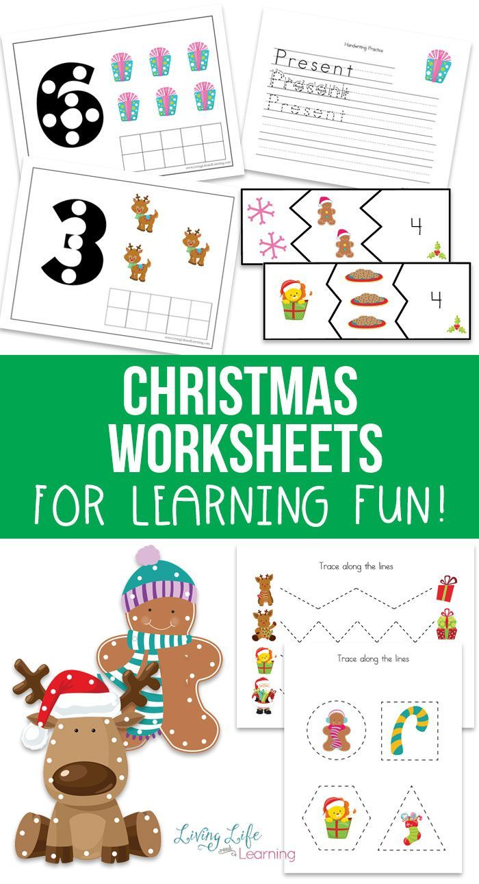 Free Christmas Worksheets For Kids Holiday Worksheets Christmas Worksheets Kindergarten Christmas Worksheets [ 1290 x 700 Pixel ]