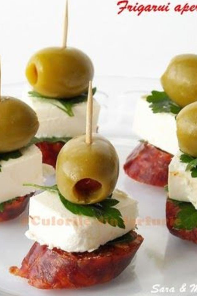 Antipasto on a stick