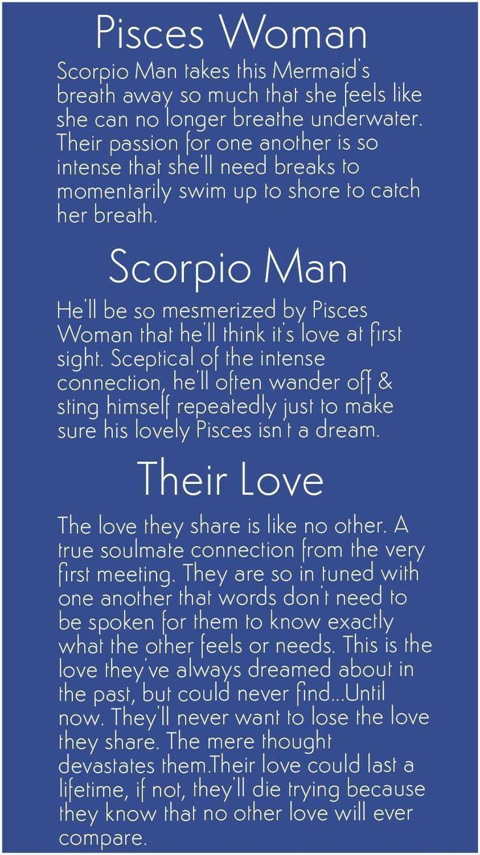 What do scorpio males find attractive