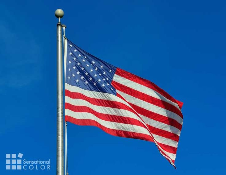 Colors Of The American Flag