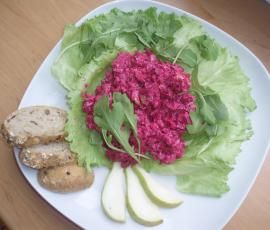 Recept Letní salátek z červené řepy od eliska - Recept z kategorie Předkrmy