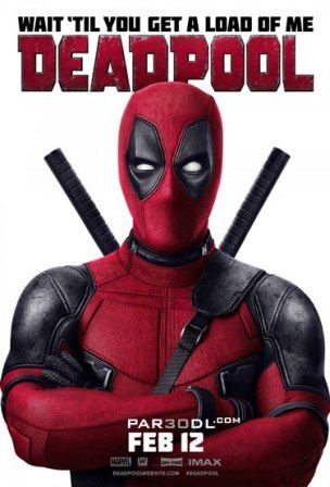 Deadpool 2016 Bluray 720p and 1080p ganool