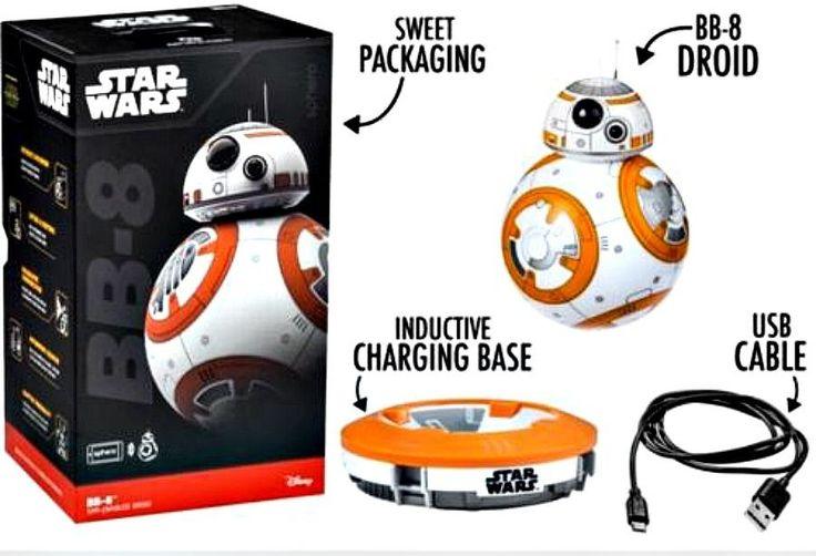 Star Wars The Force Awakens Sphero BB-8 Droid App Enabled Fast Shipping #SpheroforDisney