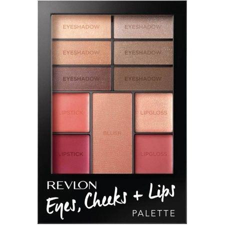 Pret Special: 38,00 Lei Trusa Revlon Eyes , Cheeks + Lips Palette - Romantic Nudes
