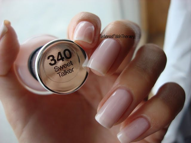 MY FAV POLISH - I just got this and put it on this morning. SO NATURAL! Sally Hansen Complete Salon Manicure Sweet Talker