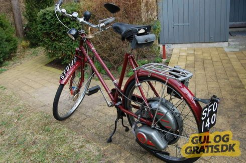 Sjælden knallert Cyclemaster, billede 1