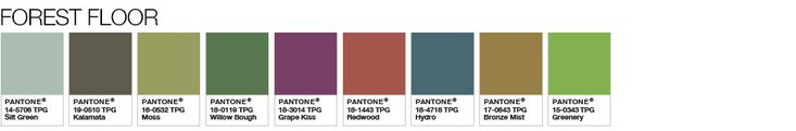 Pantone Color of the Year 2017 - Greenery - Color Pairings and Palettes