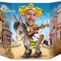Fiesta Donkey Photo Prop $24.50 BE57977