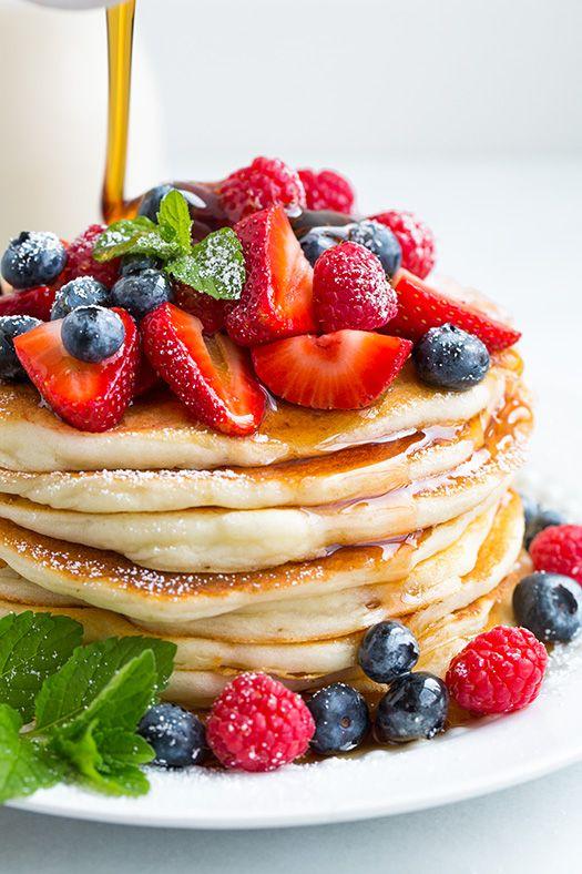 Gluten-Free Buttermilk Pancakes | Cooking Classy