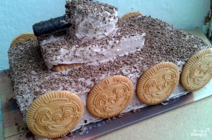 Торт Танк  Рецепт с фото Рецепты Выпечка Рецепты тортов