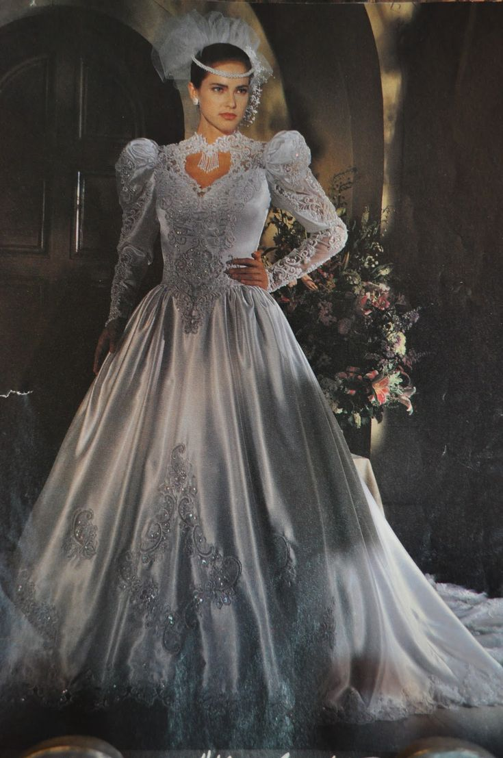136 best wedding fashion 1980s images on pinterest wedding 80s wedding gowns dress these are the most 80 s you can get ombrellifo Images