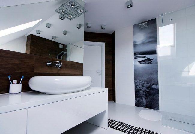 Badezimmer-Ideen-kleine-Baeder-modern-Fototapete-Natur-Concept-Jo - kleine moderne badezimmer