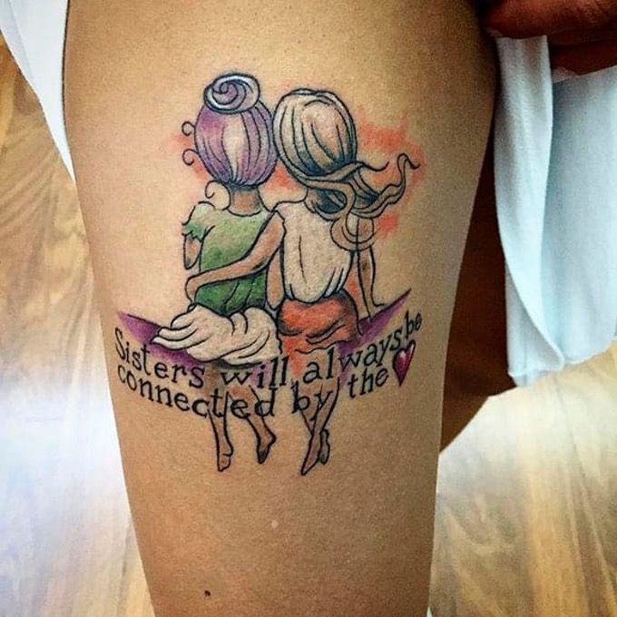 20 Designs for Sisters or best Friends – Tattoos