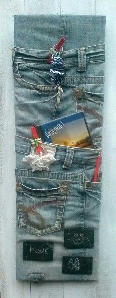 Jeans organizer Spijkerbroek organizer.