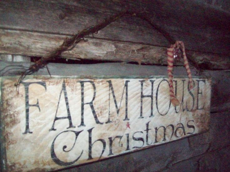 "COUNTRY""FARMHOUSE CHRISTMAS""WOOD SIGN,PRIMITIVE DECOR,PRIMITIVE CHRISTMAS  #Country"