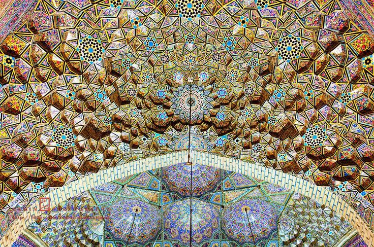 15 Images from Nasir Ol-Mulk Mosque In Shiraz – Iran which is simply amazing