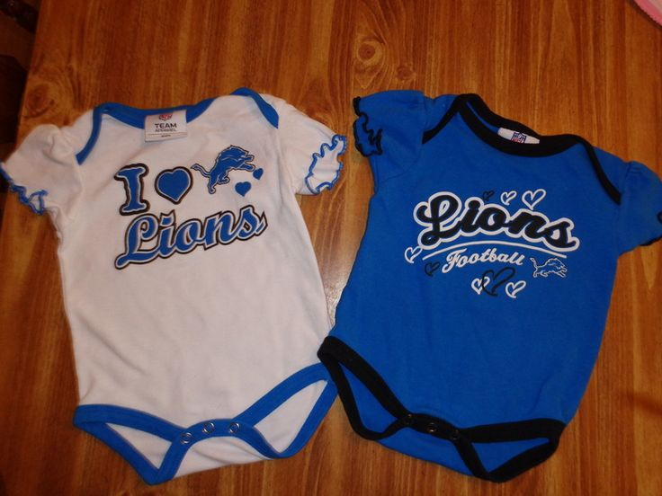 Detroit Lions baby Onsie NFL team apparel