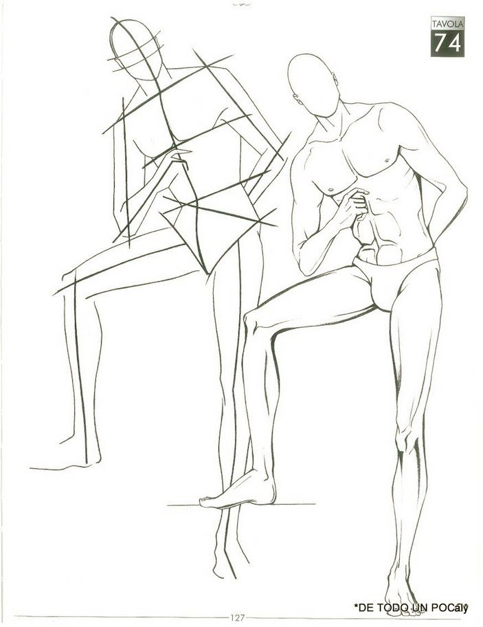 26 best images about Poses for fashion illustration (men ...