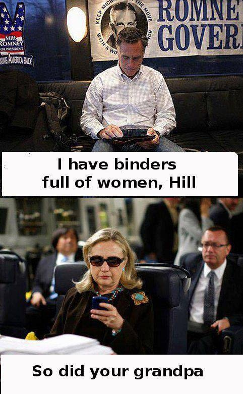 Romney Binders Full of Women Like His Grandfather