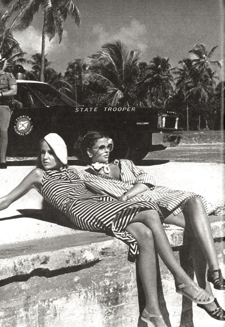 Vogue,1975. 70s summer style. this was very stylish but I lived in bell bottoms and peasant tops