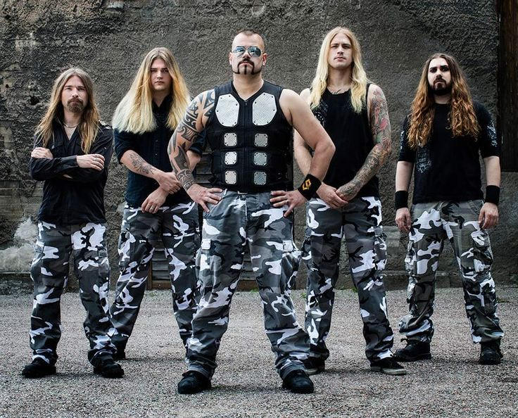 Thobbe Englund, guitarist, has left the band Sabaton due to its hectic schedule. And now they welcome a new guitarist, Tommy Johansson! (Second from the left).
