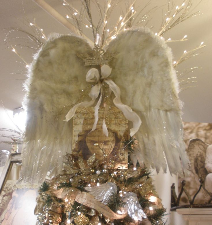 17 Best ideas about Unique Christmas Tree Toppers on Pinterest ...