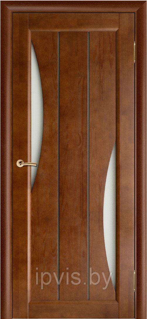 Двери межкомнатные Вега-4 темный орех (Вилейка)  в г. Гомель. Отзывы. Цена. Купить. Фото. Характеристики.