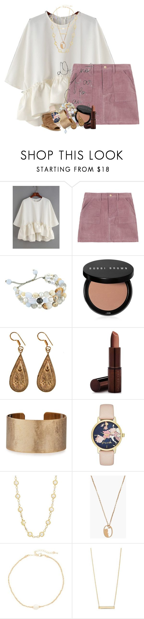 """""""HELP rtd"""" by livnewell ❤ liked on Polyvore featuring Chan Luu, Bobbi Brown Cosmetics, Urbiana, Fashion Fair, Panacea, Kate Spade, Madewell, Jules Smith, Bony Levy and Vince"""