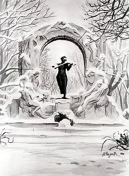 Johann Strauss  by Johannes Margreiter