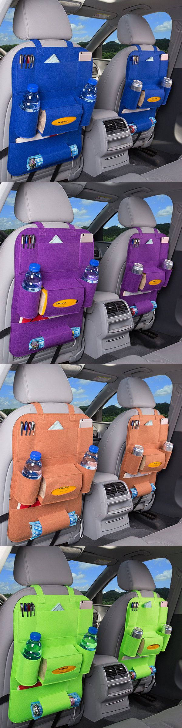US$7.76 Multifuctional Car Storage Bag_ Carriage Bag_ Nonwovens Hanging Bag