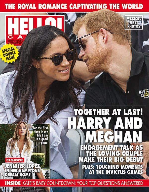 Hello! Canada, No. 576, Oct 2017 #meghanmarkle #princeharry https://www.instagram.com/hellocanadamag/