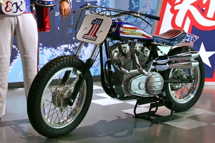 1973 Harley Davidson Xr 750 Motorcycle Cool Daredevil: Evel Knievel's Harley Davidson XR-750