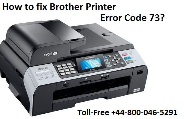 How to fix Brother Printer Error Code 73                                Steps to fix Brother Printer Error Code 73 by brother printer support expert. Dial +44-800-046-5291 for Brother Printer repair services & fix printer errors