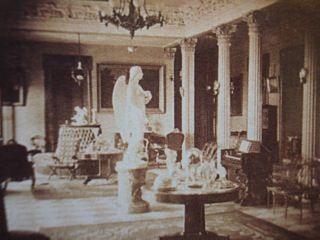 The Peri Statue At Belmont Mansion Nashville TN