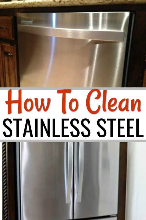 How To Clean Stainless Steel Cleaning Stainless Steel With 2