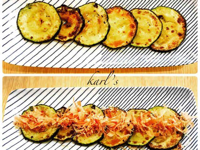 簡単グリルズッキーニ 焼き野菜の画像
