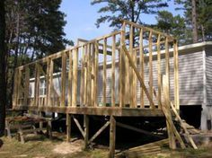 framing-of-mobile-home-addition