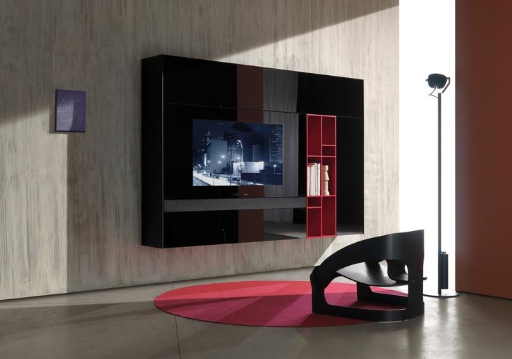 SmartWall é um desenvolvimento do sistema New Concepts ao qual se integra perfeitamente em acabamentos e dimensões. Hoje é considerado uma das soluções mais inovadoras para salas de estar e entretenimento doméstico.