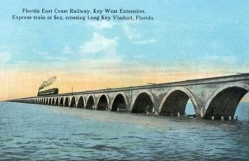 Florida view of the key west extention of the fl east