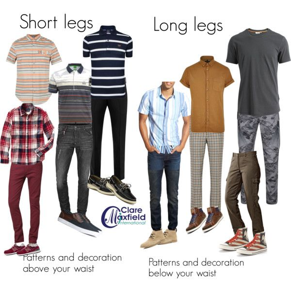 how to dress men with shorter or longer legs by claremaxfield on Polyvore featuring J.Lindeberg, Paul & Shark, Original Penguin, Maharishi, ucon, H&M, Converse, Sperry Top-Sider, 1901 and River Island